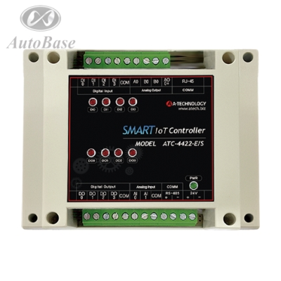 Smart Iot Controller ATC-4422-ES 4DI 4DO 2AI 2AO