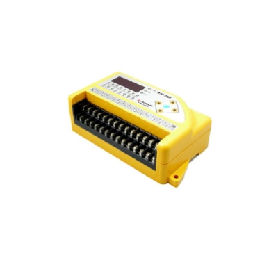 8-Channel analog voltage input and 6-Channel photo-coupler input