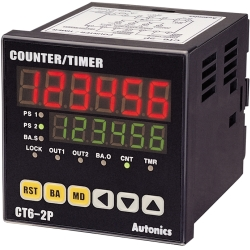 Bộ đếm Counter Timer Autonics CT6S-I4 100-240VAC